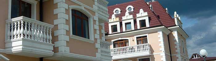 Декоративни фасадни профили и орнаменти